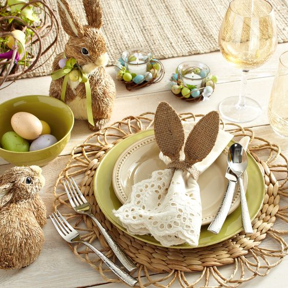 Hop-Hop Easter Tabletop