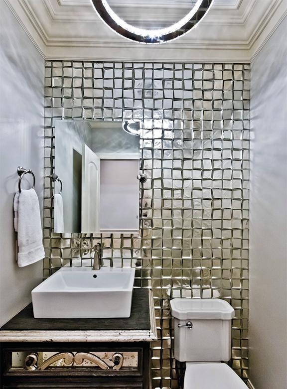 Boty 2016 Luminous Powder Room St Louis Homes Lifestyles