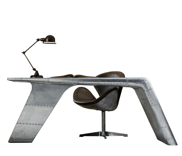 two aviator wing desk available at restoration hardware
