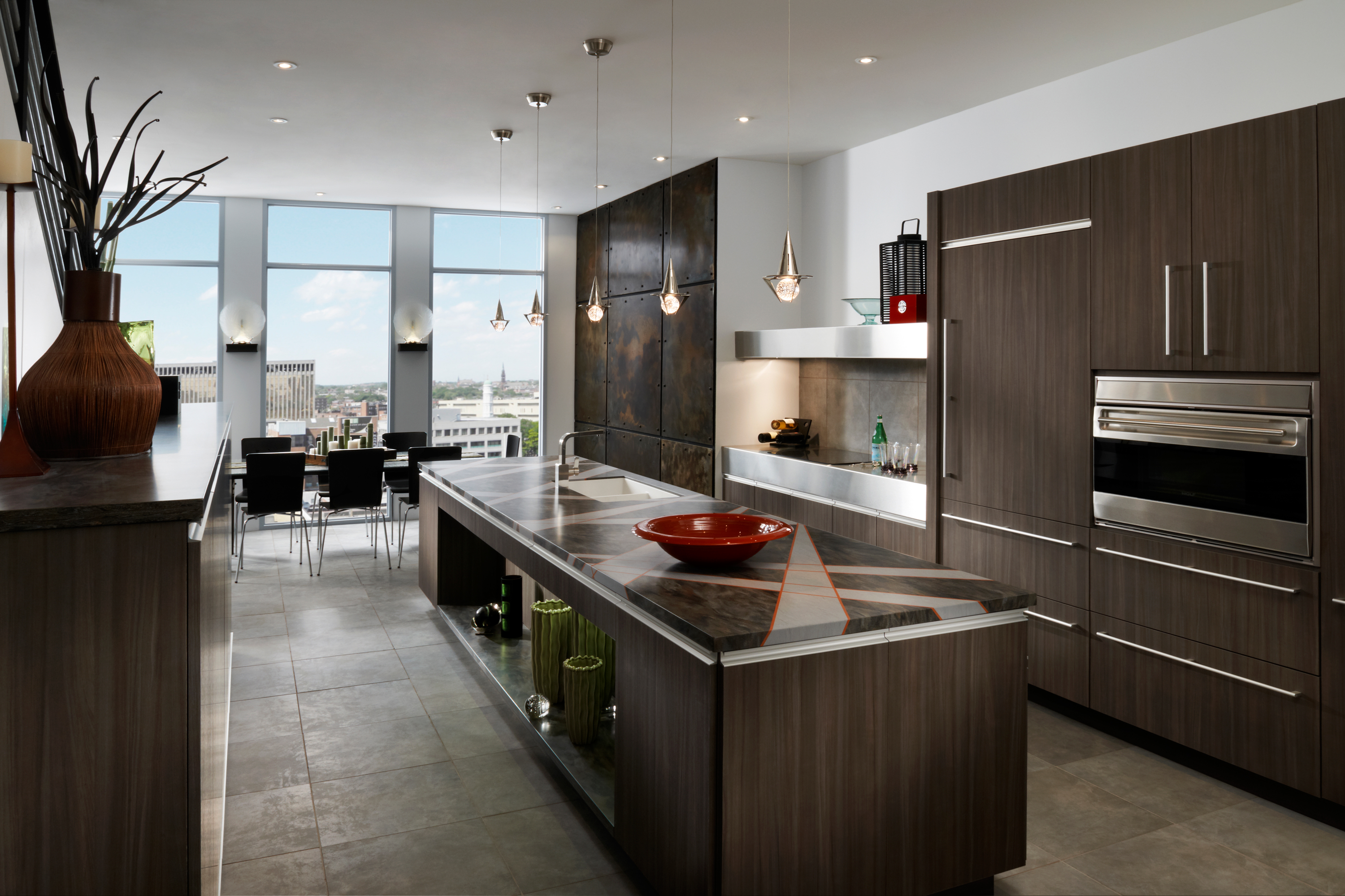 Genial Contemporary Kitchen Cabinetry