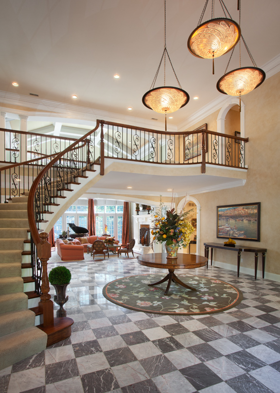 Home Saint Louis Foyer Unme : Comfort on a grand scale st louis homes lifestyles