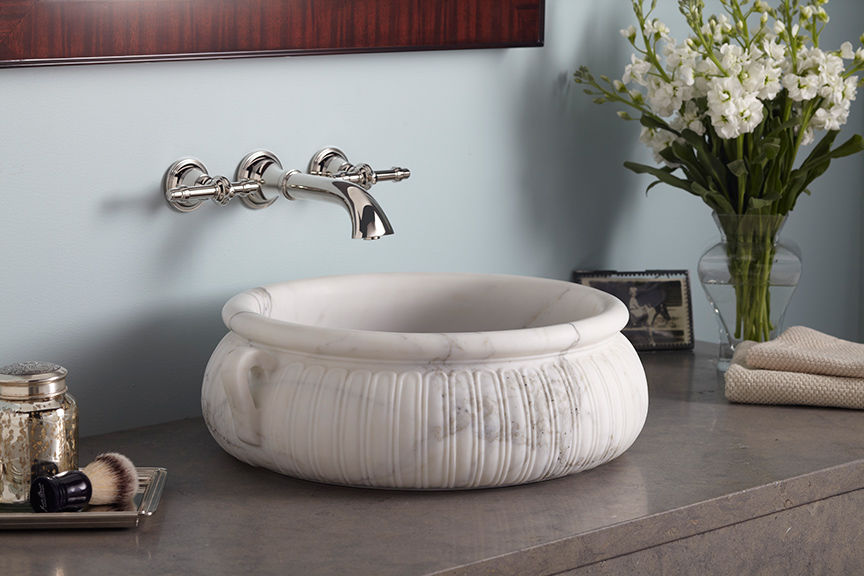 Kasos Round Decorative Vessel, By Michael S. Smith For Kallista, Available  At Crescent Plumbing Supply, Ferguson And Kohler Signature Store.