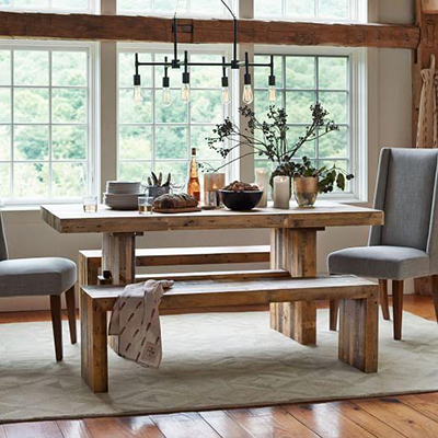 Friday Favorites: Rustic Farmhouse Tables