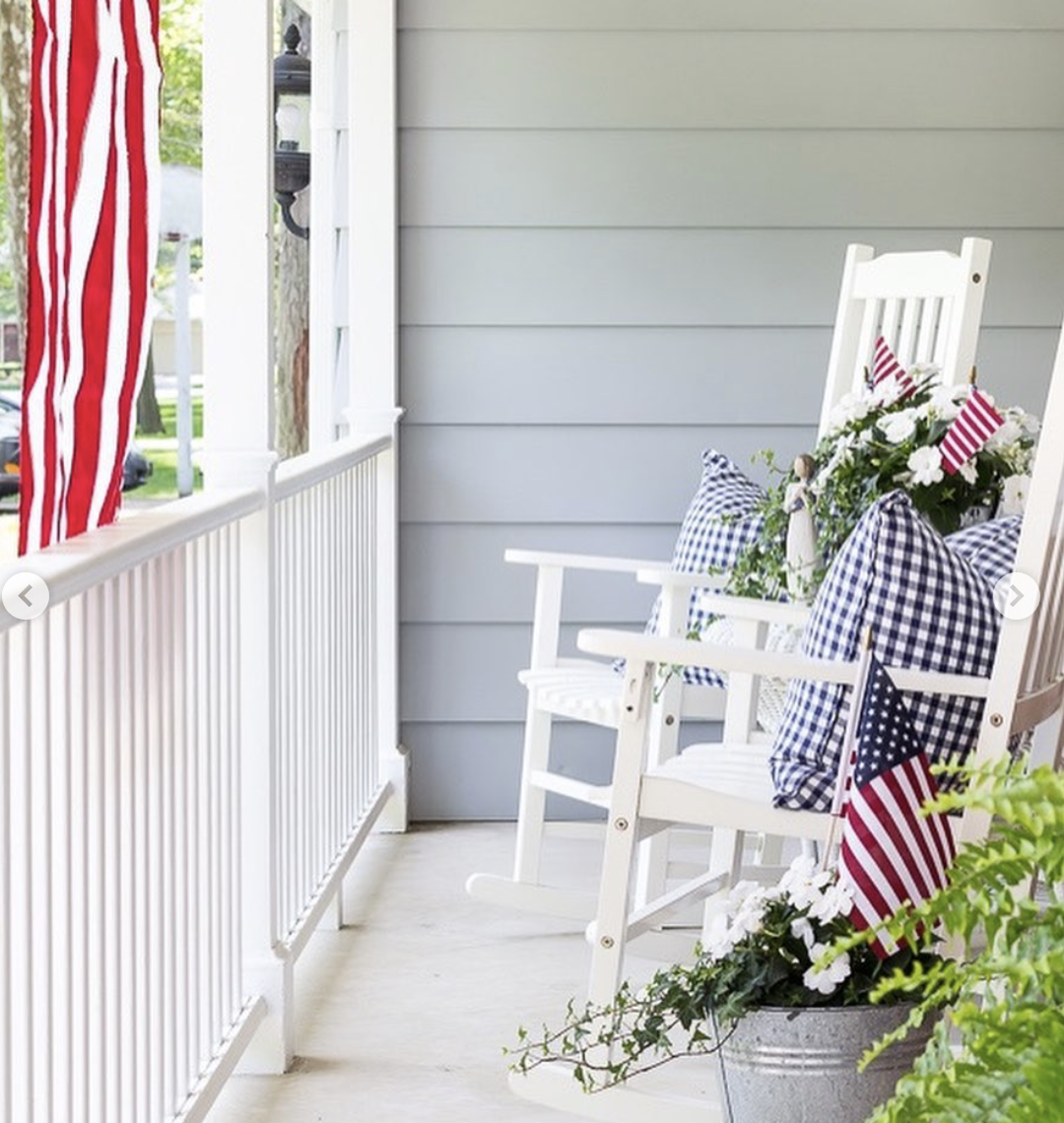 Perfect Porches for the Fourth